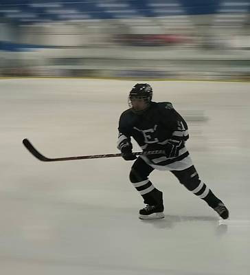 Youth Hockey Photograph - Fast Mover by Kenneth Tomory