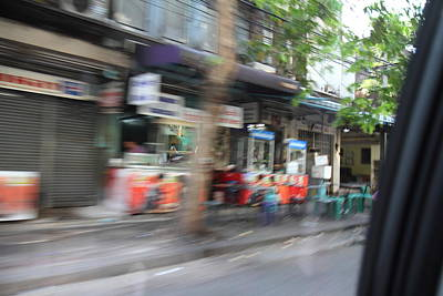 Fast Paced City Life - Bangkok Thailand - 01132 Art Print by DC Photographer