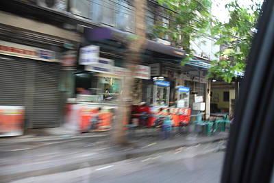 Fast Paced City Life - Bangkok Thailand - 01132 Art Print