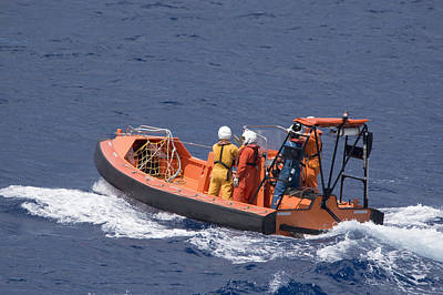 Photograph - Fast Rescue Vessel by Bradford Martin
