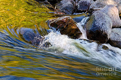 Photograph - Fast Water by Les Palenik