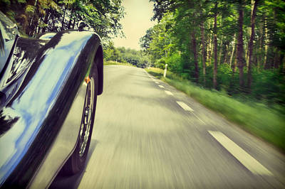 Car Photograph - Faster Morgan Faster by EXparte SE