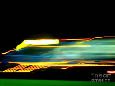 Photograph - Faster Than A Speeding . . . by Renee Trenholm