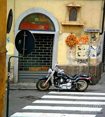Photograph - Fat Boy In Florence by Phillip Allen