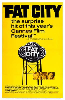 Fat City, Us Poster Art, Center Art Print by Everett