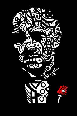 Father God Art Print by Kamoni Khem