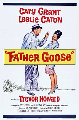 Father Goose, Us Poster Art, From Left Art Print by Everett