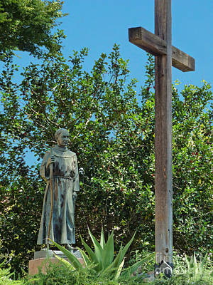 Photograph - Father Junipero Serra by Methune Hively