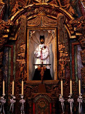 Mission San Xavier Del Bac Photograph - Father Kino by Joe Kozlowski