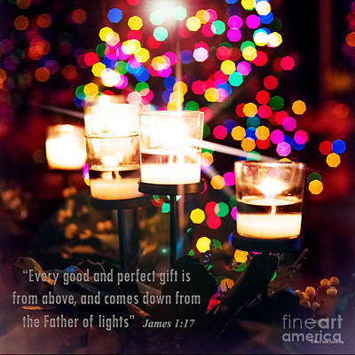 Photograph - Father Of Lights by MaryJane Armstrong