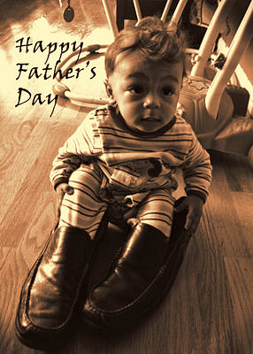 Photograph - Father's Day Card by Errol Wilson