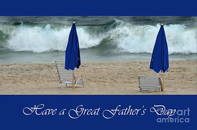Father's Day Card Art Print by Randi Grace Nilsberg