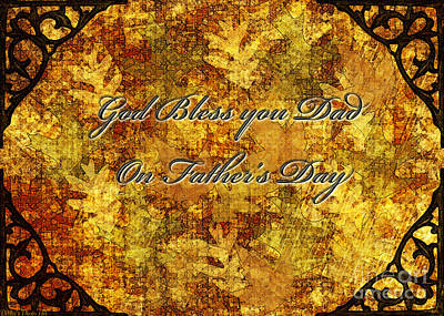 Digital Art - Father's Day Greeting Card IIi by Debbie Portwood