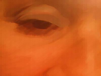Portrait Study Mixed Media - Fatigue by Dennis Buckman