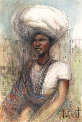 Fatima Art Print by Gregory DeGroat