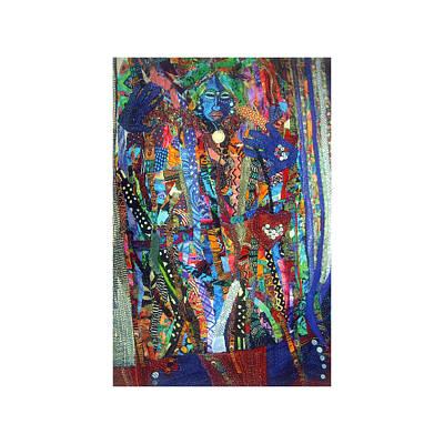 Tapestry - Textile - Fatima by Gwendolyn Aqui-Brooks