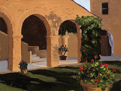 Painting - Fattoria Armena by Mary Giacomini