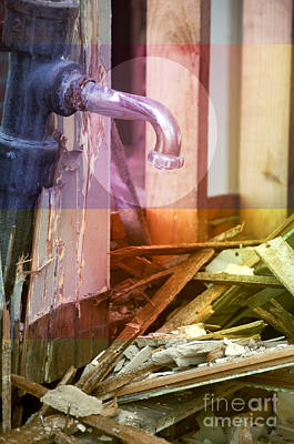 Photograph - Faucet by Affini Woodley