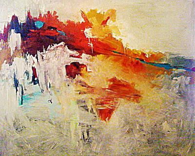 Painting - Fault 2  C2011 C2014 by Paul Ashby