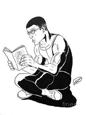Area 613 Comics Drawing - Faulty Reading by Justin Moore
