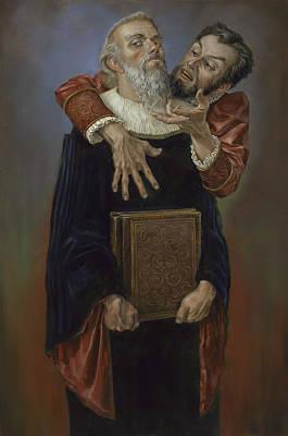 Tosca Painting - Faust by Matt Hughes