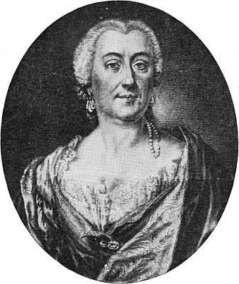 The Sopranos Drawing - Faustina Bordoni Italian Mezzo-soprano by Mary Evans Picture Library
