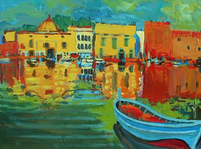 Painting - Fauve Port by Brian Simons