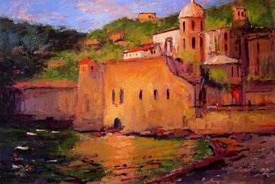 Fauvo Vernazza Print by R W Goetting