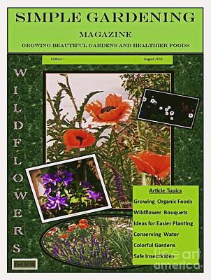 Photograph - Faux Garden Magazine Cover by Bobbee Rickard