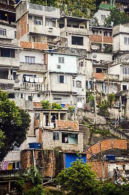 Favela - Rio De Janeiro Art Print