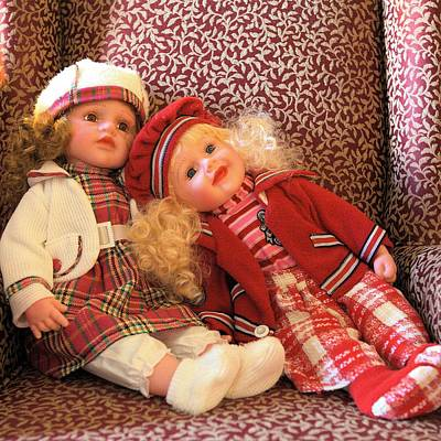 Photograph - Favorite Dolls - Square by Gordon Elwell