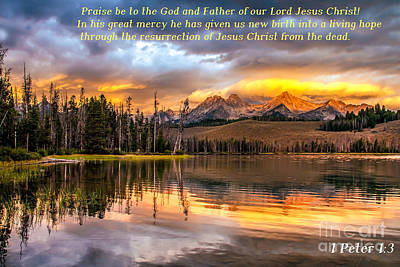 Photograph - Favorite Easter Verse by Robert Bales
