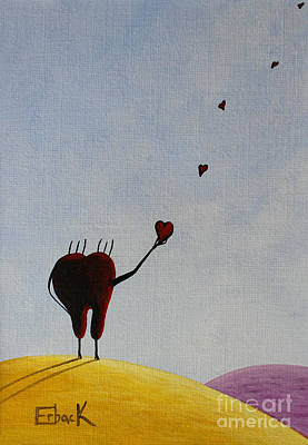 Heart Painting - Favorite Memories by Shawna Erback
