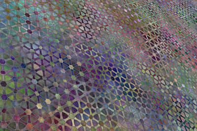Digital Art - Favorite Old Quilt 3 by Judi Suni Hall
