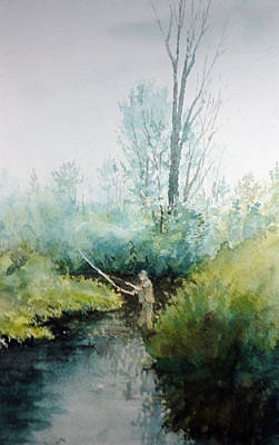 Painting - Favorite Spot by Ken Marsden