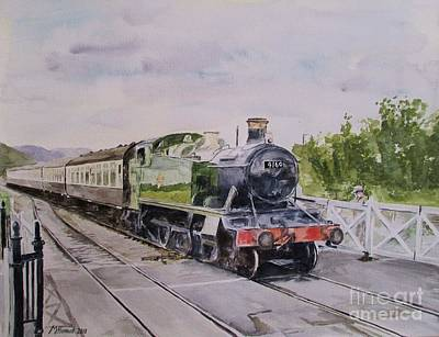 Western Pleasure Painting - Favourite Tank 4160 by Martin Howard