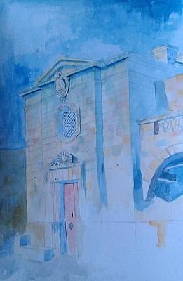 Fawwara Chapel Art Print