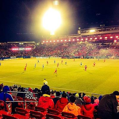 Sports Photograph - Fc Dallas #cold #mls #dtid #iphone5 by Scott Pellegrin