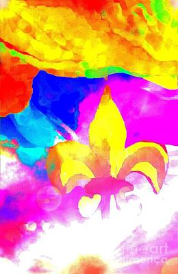 Painting - Fdl Into The Light Abstract by Saundra Myles