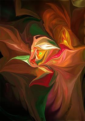 Digital Art - Fear by David Lane