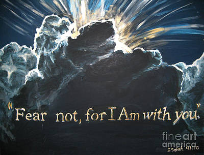 Painting - Fear Not For I Am With You by Whitney Wiedner