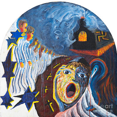 Painting - Fear by Walt Brodis