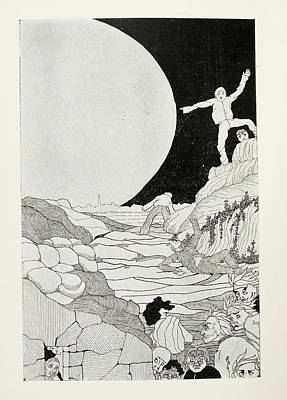 Fearful Humans Art Print by British Library