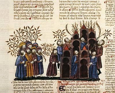 Feast Of Tabernacles, 1430 Artwork Art Print