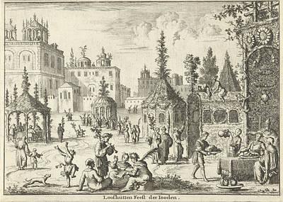 Feast Of Tabernacles, Jan Luyken, Willem Goeree Art Print by Jan Luyken And Willem Goeree