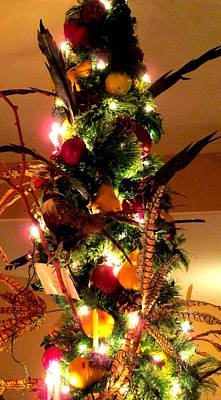 Photograph - Feather Christmas Tree by Randall Weidner