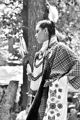 Photograph - Feather Dance - Nanticoke Powwow by Kim Bemis