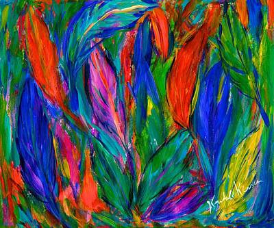 Painting - Feather Fall by Kendall Kessler