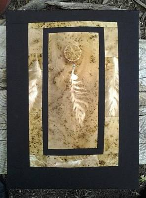 Mixed Media - Sold-feather by Jan Reich