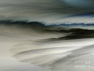 Digital Art - Feathered Seascape by Patricia Kay